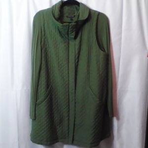 Eileen Fisher Vest and  Bouse